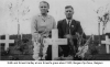 Edith and Ernest Hartley at Ernests Grave Belgium 1950.png