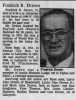 fredrick drown obituary lafayette journal and courier 6 october 1986.png