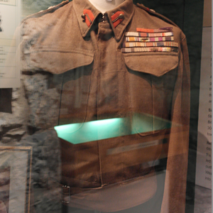 Battledress jacket of Field Marshal Auchinleck