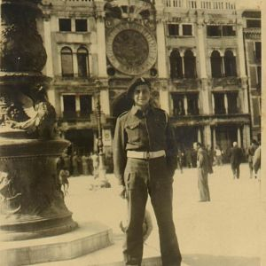 1945 Venice Day leave   Piazza San Marco
