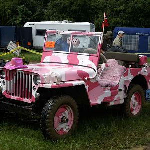 Pink Power Jeep