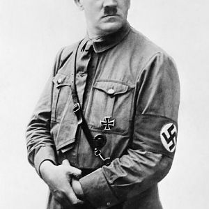 HITLER, Adolf (20 April 1889 – 30 April 1945); IWM MH 4919