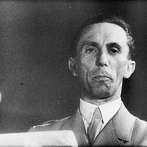 GOEBBELS, Paul Joseph (29 October 1897 – 1 May 1945); IWM (MOI) FLM 1536