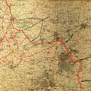 2 Corps Retreat from Louvain to Dunkirk, May 1940