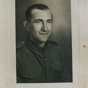 Edward Albert Dyos, 1944, 17th Field Coy RE & 84 Field Coy RE
