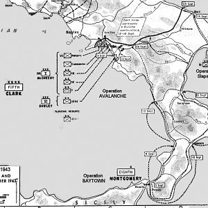 Allied landings Sicily & Southern Italy 1943