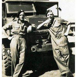 Dad On Right, 146th RAC India 1944