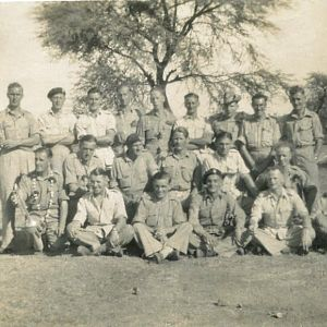 Group 146th RAC India 1944