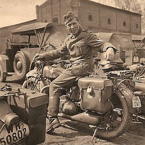 NSU LlN 13901 Ww2 german bike