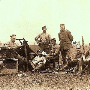 Ww1 germans At rest