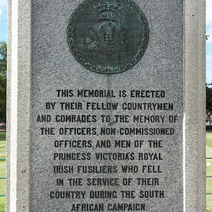Princess Victoria's Royal Irish Fusiliers Memorial 1899 - 1902