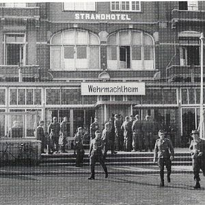 Wehrmacht Hotel, Flushing before Liberation. 1944