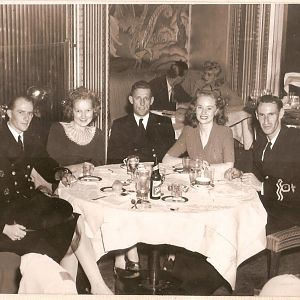14SEP1944 Persian Room @ Hotel Sir Francis DRAKE San Francisco