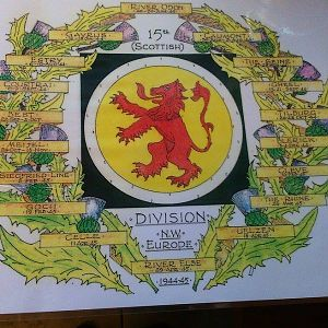 15 (Scottish) Division In NW Europe