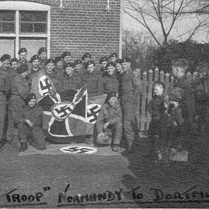 No 1 troop, Lothians At Veldhoven prior To The Reichswald attack, Feb 1945