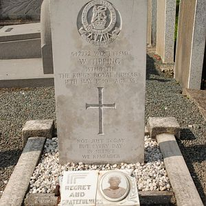 TSM TippingW, Commander, 6th Troop  A Squadron, 15th 19th Hussars,  Mollem Community Cemetery