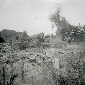 The ruins of the school at Arnhem