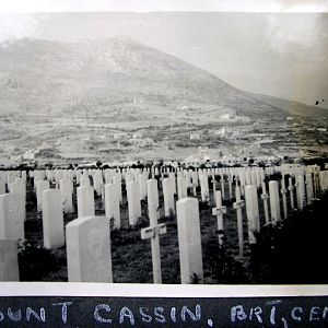 Monte Cassino British Cemetery.