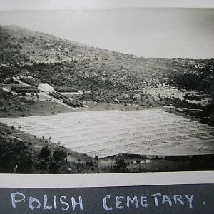 The Polish Cemetery, Monastery Hill.