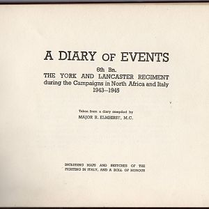 6th Y&L   Diary Of Events 1943 45   002