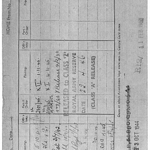 army docs with postings and dates