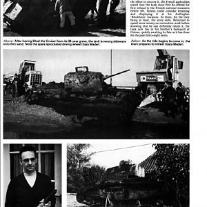 After The Battle No23 Page 45 Tank Recovery At Dunkirk