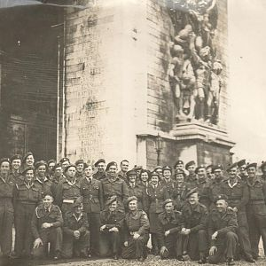 British Servicemen & women, Arc de Triomphe