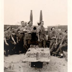 69th MED. R.A. DUNKIRK 1945
