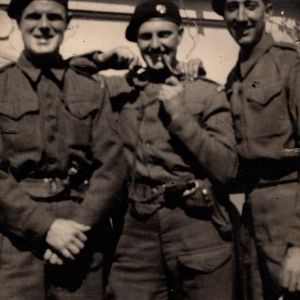 L/sgt Fred Higgin G.G. and comrades