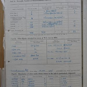 15 Recce War Diary –  December 1945
