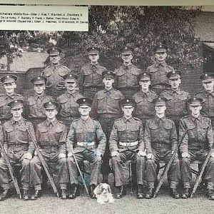 Sgt M Kinane Squad  Irish Guards 1941