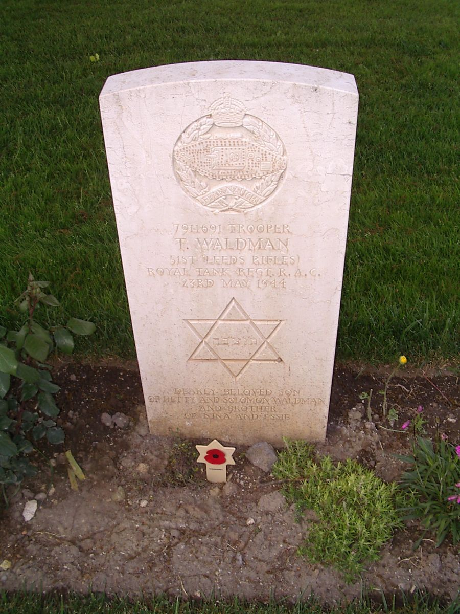 023 Trooper Waldman with AJEX marker