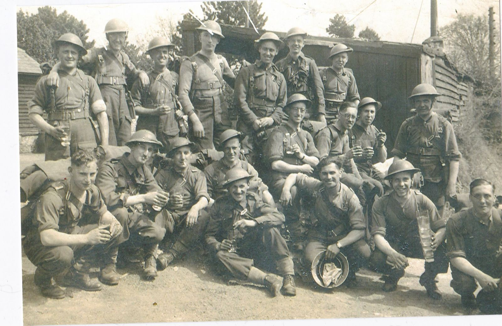 130 Field Ambulance A Or B Company 43rd Wessex   Copy
