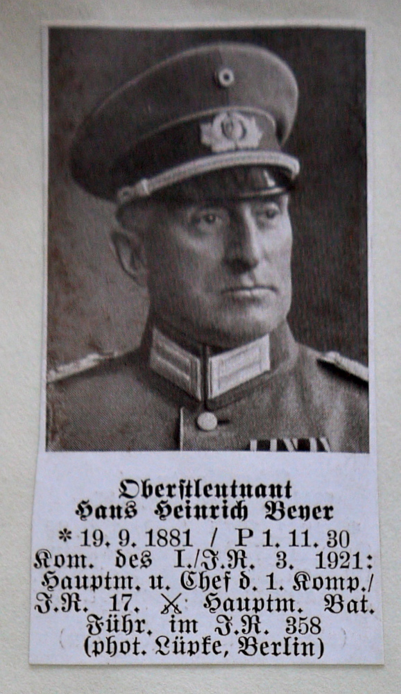 A-B Who's Who of senior German Army officers (Birley's Bible)