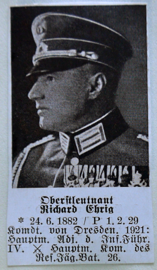 C-E Who's Who of senior German Army officers (Birley's Bible)