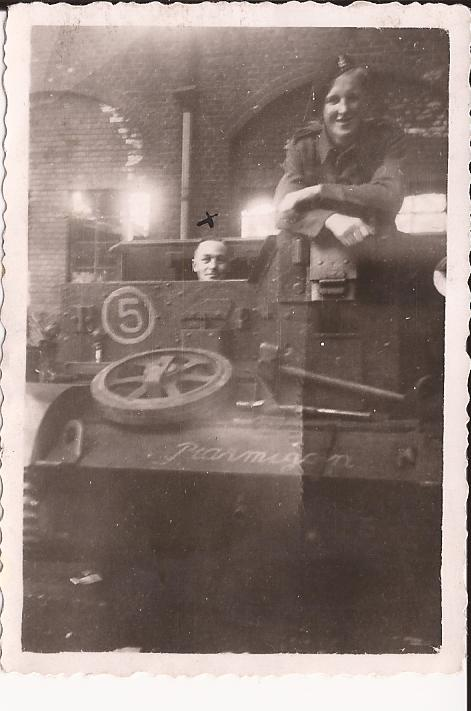 Dad In A Universal Carrier