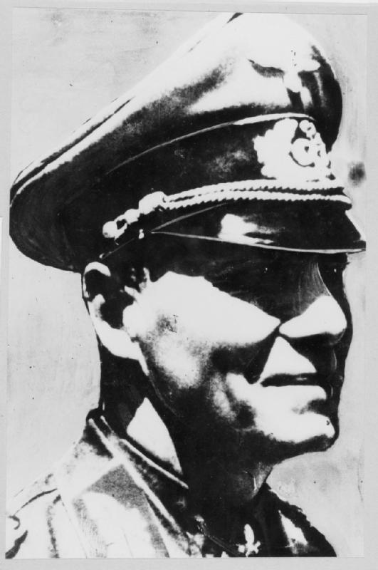 Erwin Johannes Eugen Rommel (15 November 1891 – 14 October 1944); IWM HU 17183