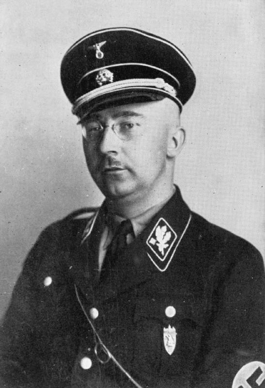 Heinrich Luitpold Himmler (7 October 1900 – 23 May 1945); IMW