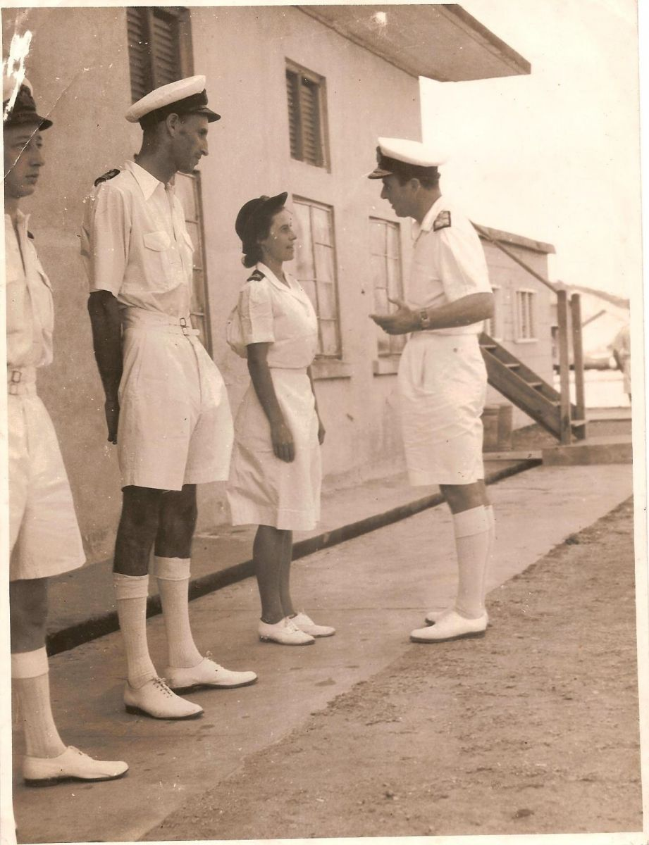 inspection By Lord Louis Mountbatten
