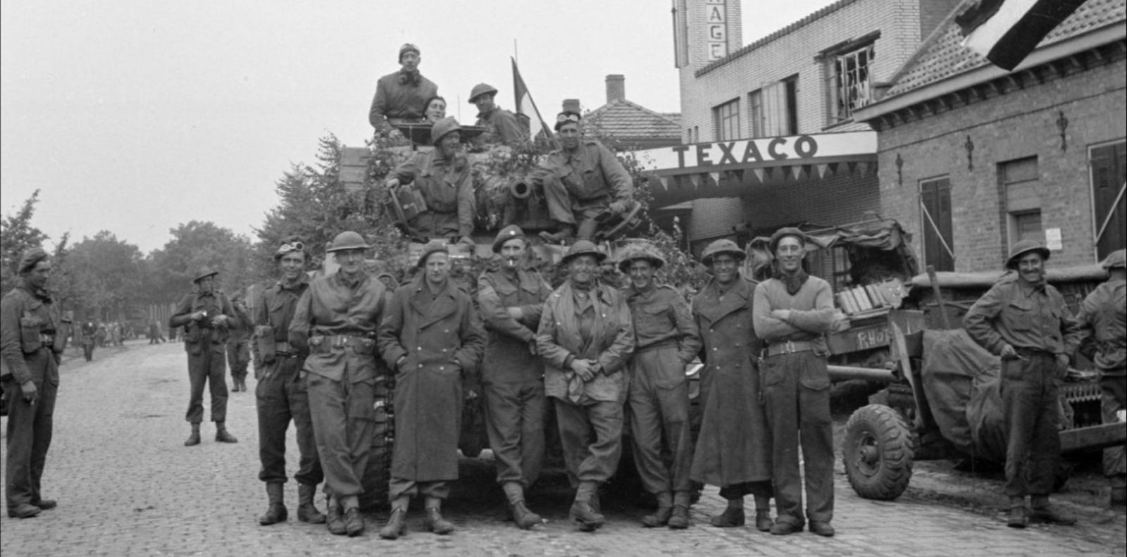 Irish Guards Group, Guards Armoured Division, Aalst, 18 Sept 44