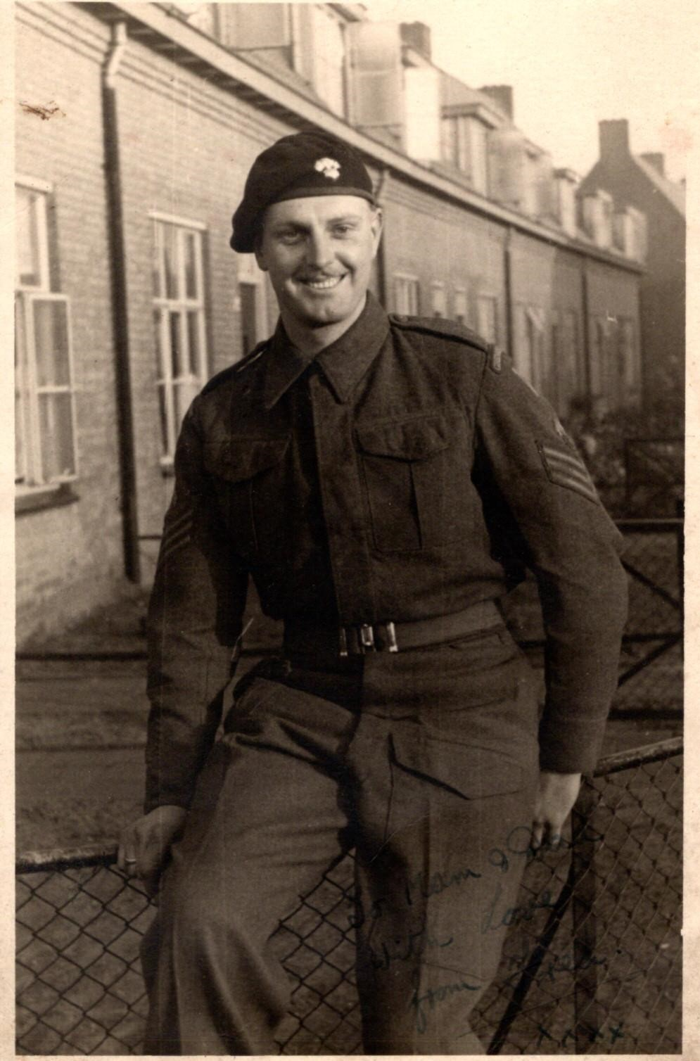 L/sgt Fred Higgin 4th Battalion Grenadier Guards.