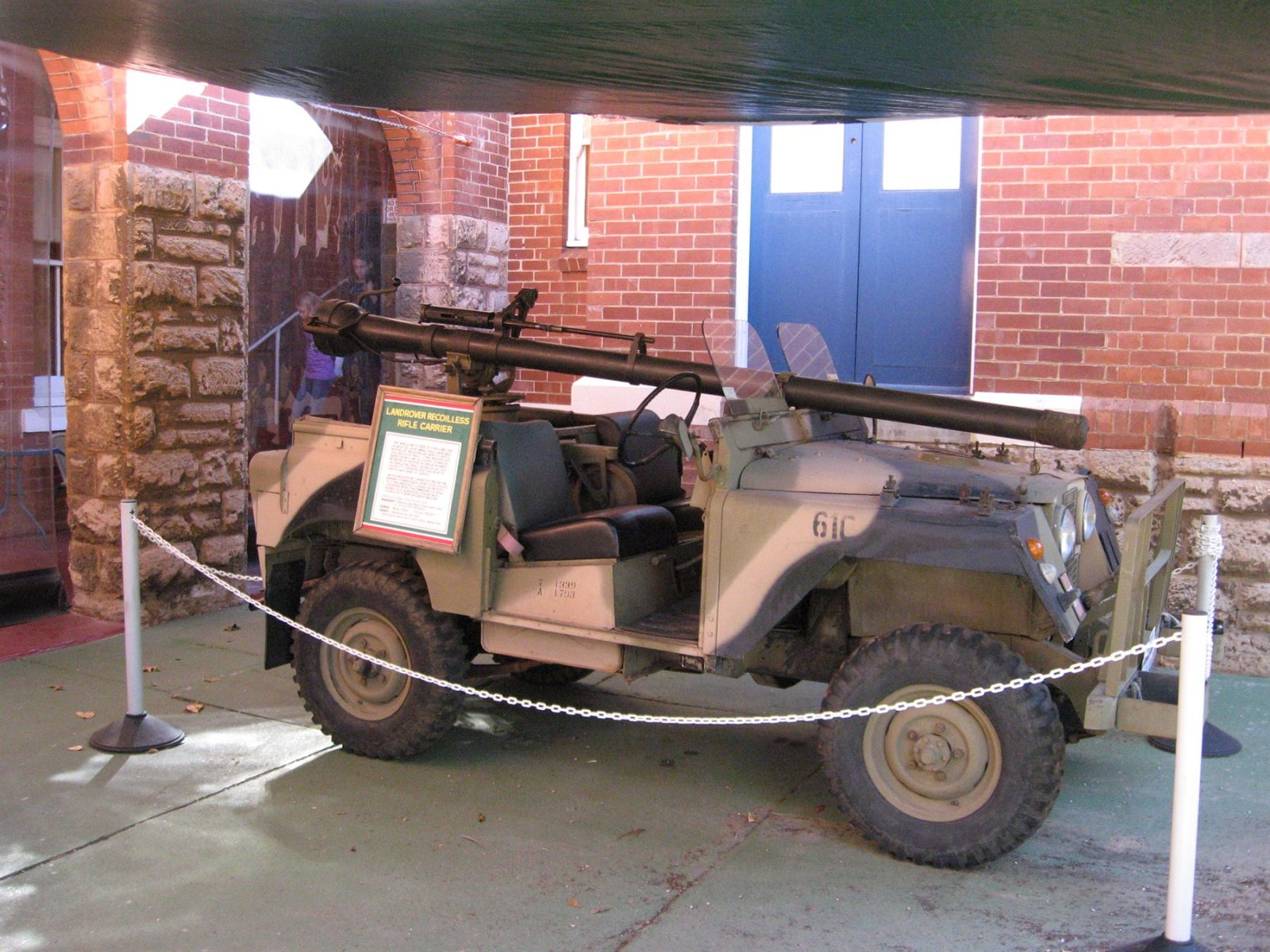 Landrover Recoilless Rifle Carrier [2]