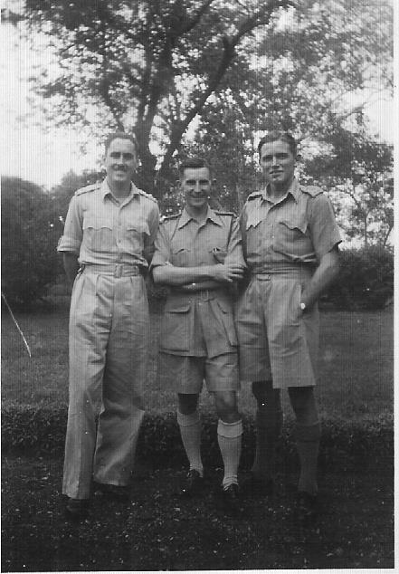 Lt.Eric Miles,25th Dragoons with Henry and Charles RAC depot, Poona 1943