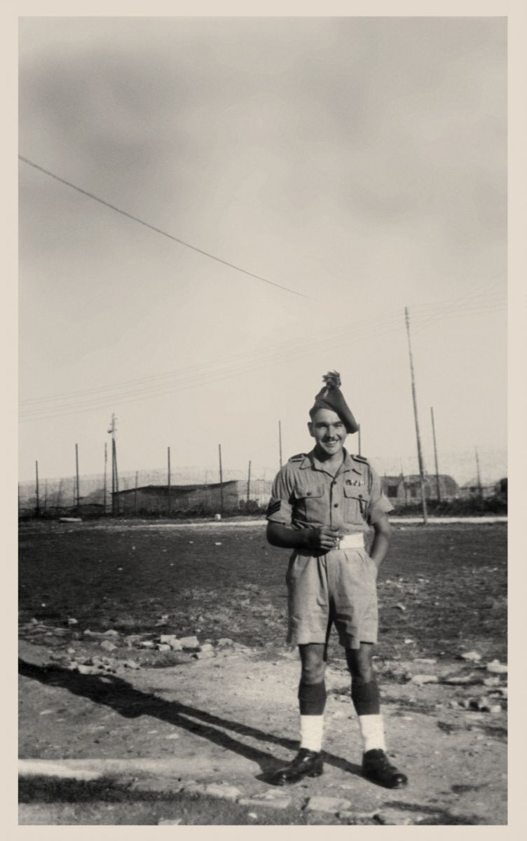 Reg Elliott 4758451   Photo   1st London Irish Rifles   Trieste   July 1946 (3)
