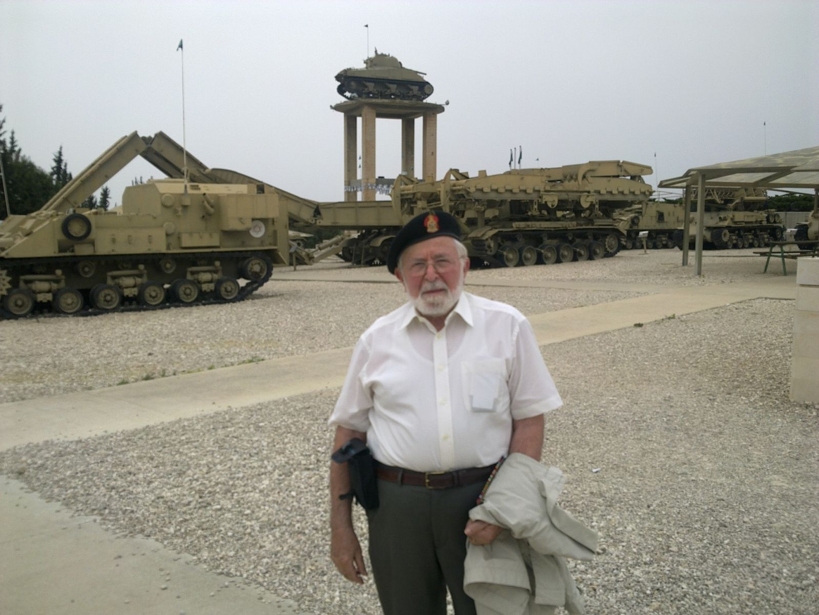 Ron  &  The tank On The tower