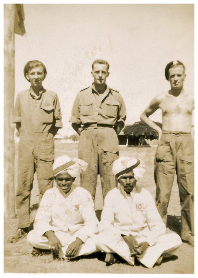 Unknown comrades 2 146th RAC India1944