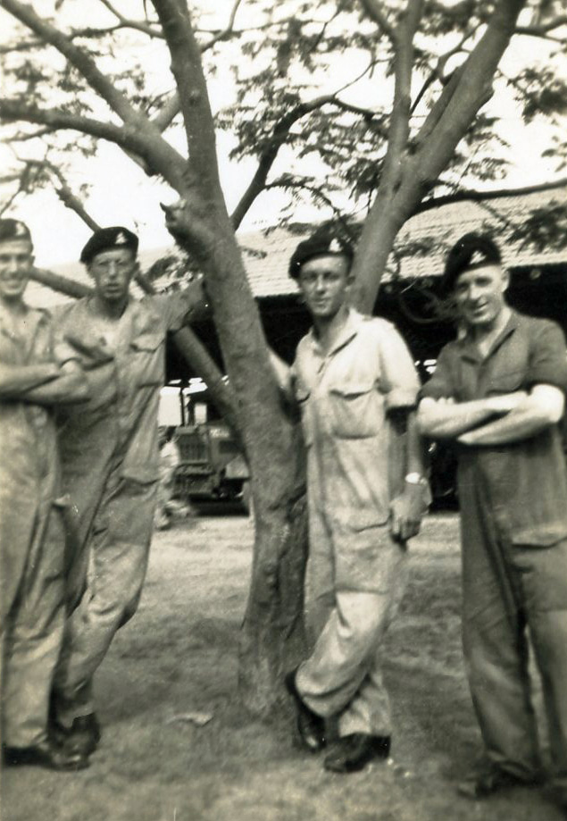 Unknown comrades 5 146th RAC India1944