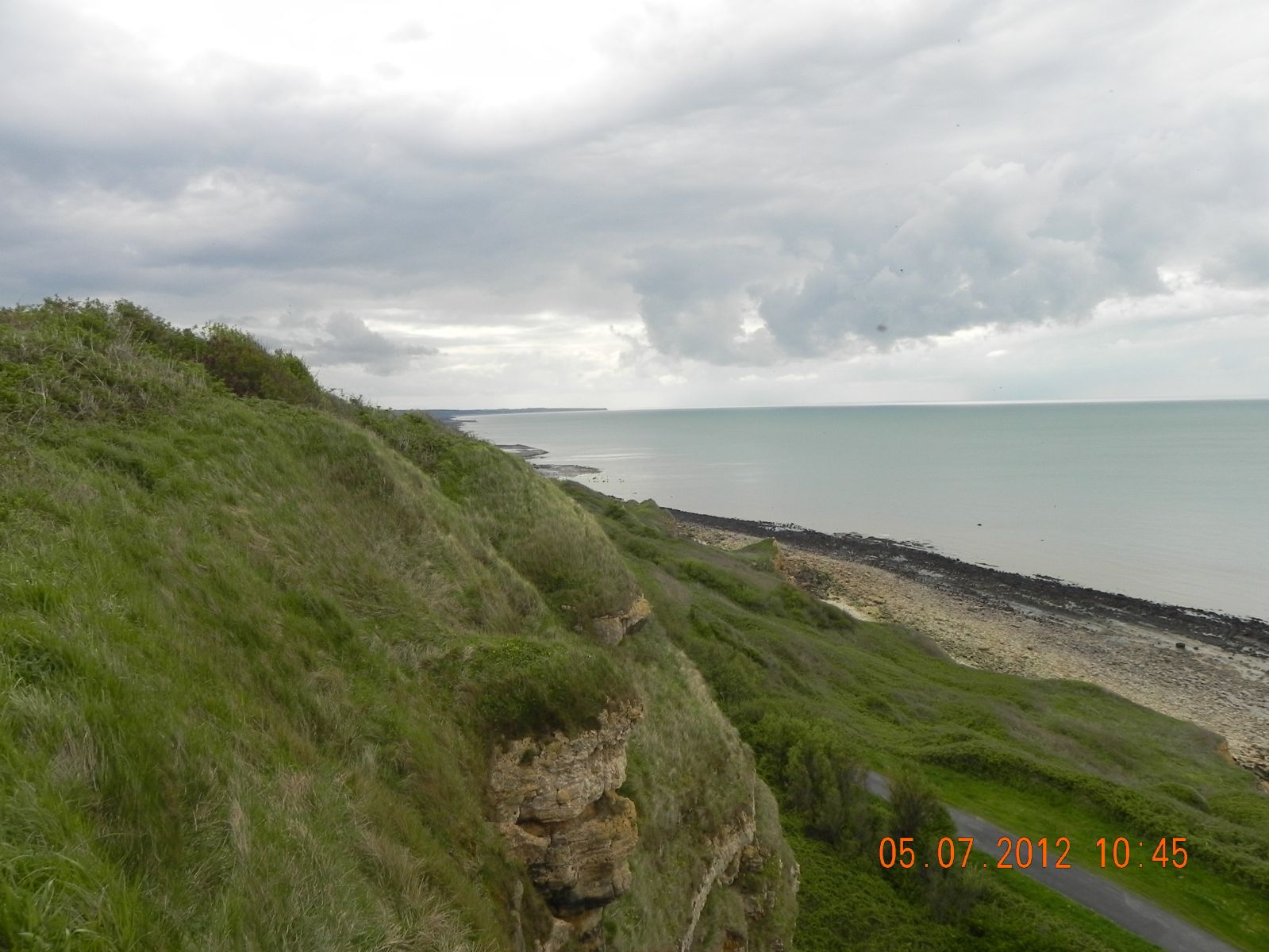 View from Arromanches Looking South Towards Omaha