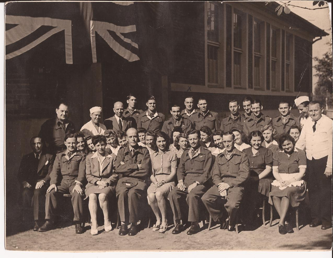 Yacht club staff September  1945