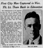 donald thom edmonton journal 22 may 1945 pg 1.png